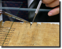 Datazione con radiocarbonio: il Papiro di Artemidoro