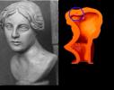 Tomografia X: busto in argilla